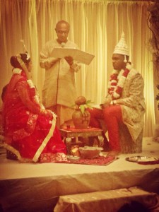 Indian wedding shot